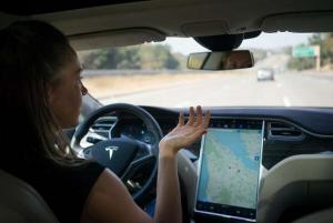 Tesla Autopilot Autosteer highway