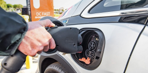 2017 Chevrolet Bolt EV Being Plugged In