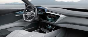 Audi e-tron quattro concept interior