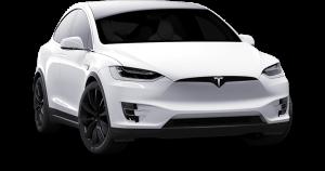 Tesla-Model-X-white